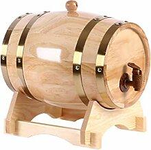 Wein Eichenfass, 3L-50L Weißwein Rotweinfass