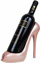 Wein-Flaschenhalter Stilvolle High Heel Schuhform