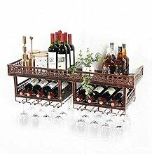 Weinbecher-Rack Wand-Weinglashalter Weinregal