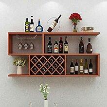 Weinbecher-Rack Wand Weinschrank Wand Weinregal