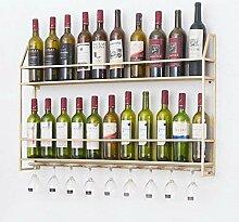 Weinbecher-Rack Wand weinschrank wandbehang