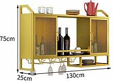 Weinbecher-Rack Wandschrank Regal Rack Weinregal