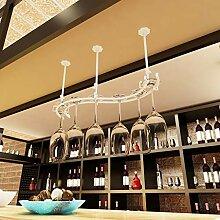 Weinbecher-Rack Weinglas Halter Schmiedeeisen