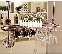 Weinbecher-Rack Weinglas Halter Weinglas auf den