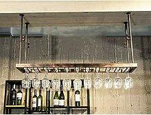 Weinbecher-Rack Weinglashalter Schmiedeeisen