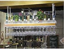 Weinbecher-Rack Weinregal Weinglas Halter Licht