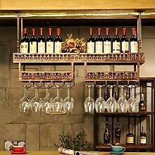 Weinbecher-Rack Weinregal Weinregal Doppel