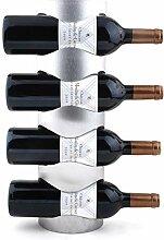 Weinflaschen, Weinregal-Wandmontage und
