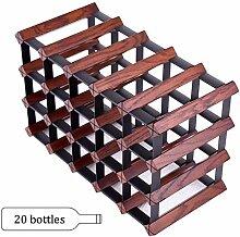 Weinflaschenhalter Bambus Weinregal Weinregal