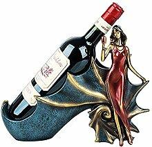 Weinflaschenhalter, Harzwein-Rack, freistehender