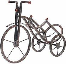 Weinflaschenhalter Kreative Tricycle Design Metall