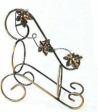 Weinflaschenhalter Metall Skulptur Fahrrad