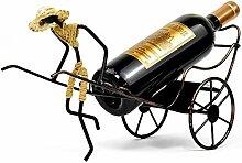 Weinflaschenhalter Rickshaw Dekor Caddy