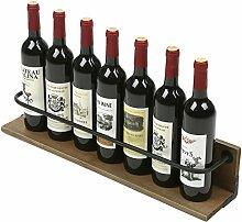 Weinflaschenhalter, Wandmontage, rustikales