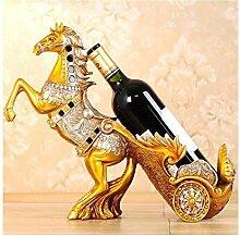 Weinflaschenregal, geeignet für Skulpturen und