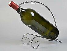 Weinflaschenregal mit kreativem Weinregal,