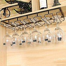 weingestell Wein Glashalter,Wein Glas Rack, Weinglas Hanger, Stemware Rack,Weinglas Rack Stemware Weinregale ( größe : 60*22.5cm )