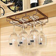 weingestell Wein Glashalter,Wein Glas Rack, Weinglas Hanger, Stemware Rack,Weinglas Rack Stemware Weinregale ( größe : 30*22.5cm )