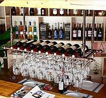 weingestell Weinglas-Rack, Regal-Wein-Glas-Halter, Weinglas-Rack, Weinglas-Rack, Champagner-Glas-Rack, Glaswaren-Rack Weinregale ( größe : L100*W30cm )