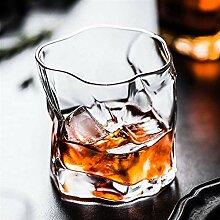 Weingläser 2PCS / Lot 245ml Whisky Scotch Glas