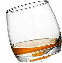 Weingläser drehen Gyro altmodischen Whiskyglas