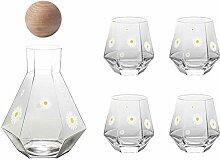 Weingläser Kaffeebecher Geschenk Glaskrug