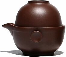 Weingläser Kaffeebecher Geschenk Purple Clay