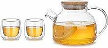 Weingläser Kaffeebecher Geschenk Teekanne Set