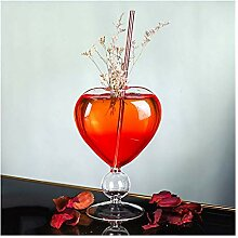 Weingläser Liebhaber Thema Herzform Schatz