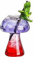 Weingläser Pilz Cocktailglas Molecular Gastronomy