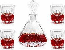 Weingläser Weinglas Whisky Dekanter Whisky Glas