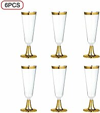 Weinglas 6 Teile/Satz 150 Ml Einweg Hartplastik