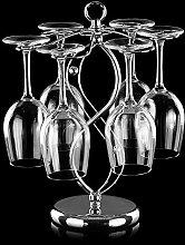 Weinglas-Aufhänger aus Edelstahl, elegant, für