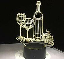 Weinglas Flasche Grapefruit Stimmung Party