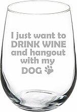 Weinglas mit 325ml Fassungsvermögen, ohne