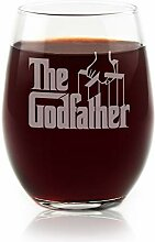 Weinglas ohne Stiel, offizielles Lizenzprodukt,