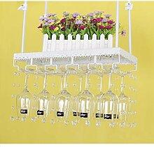 Weinglas Rack Hanging Upside Down Becher Rack Home