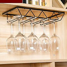 Weinglas Rack unter Schrank Stemware Weinglas