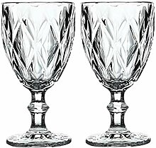 Weinglas,Rotweingläser Wein Glas Goblet Cup 2pcs