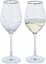 Weinglas-Set Glitz Dartington Crystal
