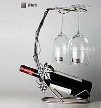 Weinglas Weinflaschenhalter weinglashalter halter Weinflaschenhalter wine glass holder Trauben Vines Silber