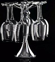 Weinglas Weinflaschenhalter weinglashalter halter Weinflaschenhalter wine glass holder Silber Stand Mehrere