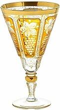 Weinglas Weinkelch Römer Glas Yellow Queen 200 ml