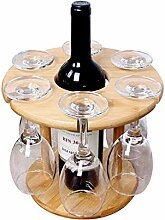 Weinglashalter Bamboo Tabletop