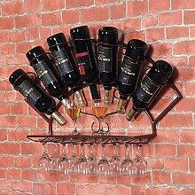Weingut Vintage Eisen Weinregal, Wand Weinregal,