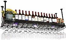 Weinhalter Decke Weinregale Metall hängen