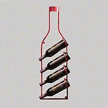 Weinhalter Vintage Weinregal Wandbehang