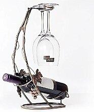 Weinhalter Weinregal Flaschenregal Weinglas Rack