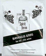 WEINHEFE für 50L - UNIVERSAL Wein Hefe Weißwein