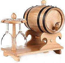 Weinherstellung Vintage Weinfass Whiskeyspender -